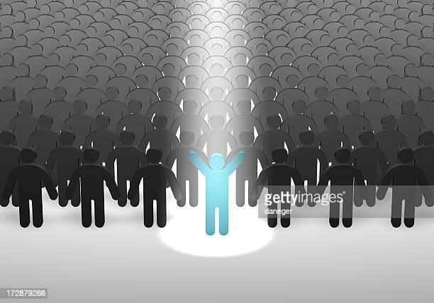 Person in Spotlight (XL)