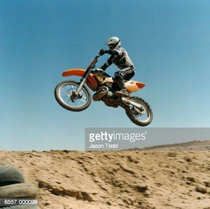 Person on Motocross Bike