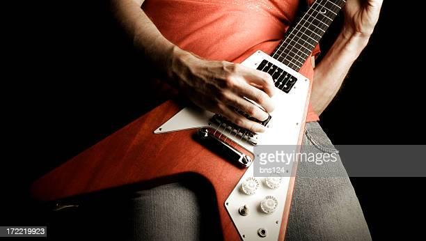 rock'n'roll-Gitarre