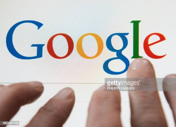 A person prepares to search the internet using the Google search engine on May 14 in Lille In a surprise ruling on May 13 the EU's top court said...