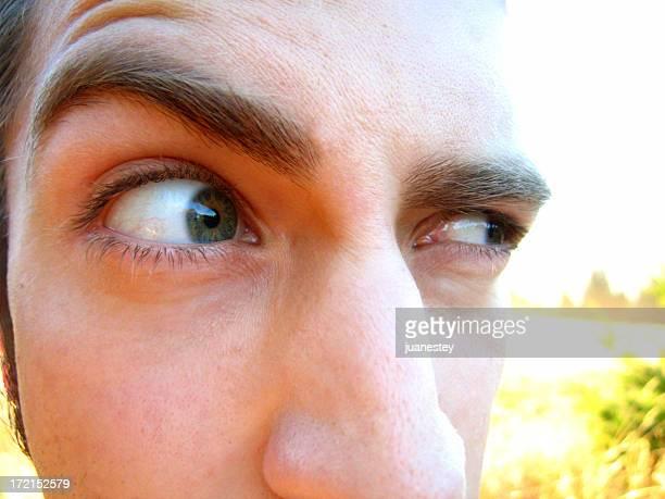 Verdächtige Augen