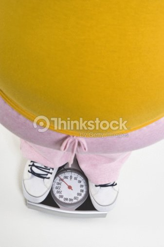Person Standing On Bathroom Scale Low Section Stock Photo ...