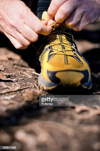 Spring trail running