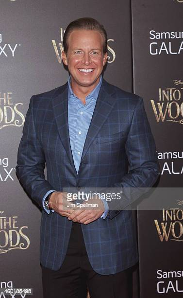 Personaity Chris Wragge attends the 'Into The Woods' world premiere at the Ziegfeld Theater on December 8 2014 in New York City