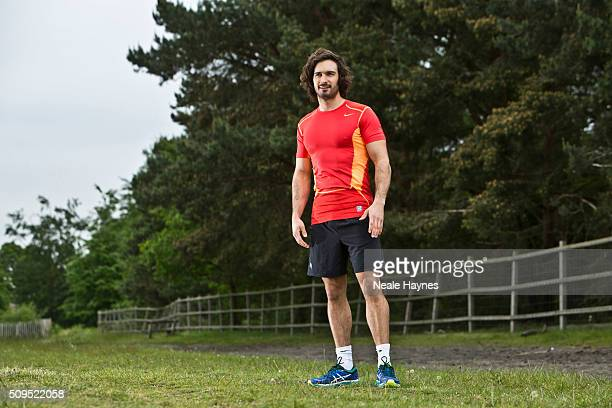 Personal body coach Joe Wicks is photographed on May 22 2015 in London England