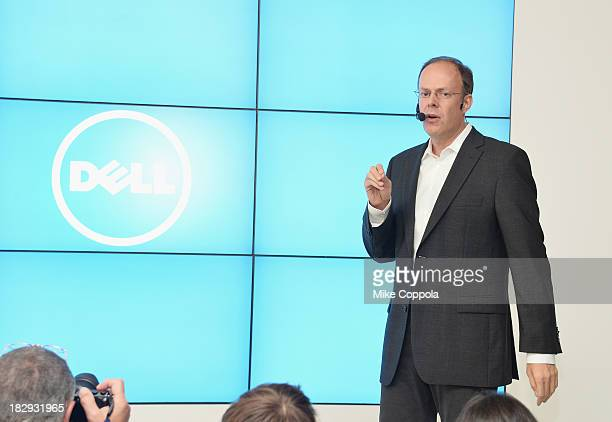 VP GM Personal Computer Product Group at Dell Sam Burd speaks at Dell Press Conference To Introduce The Venue Tablet Line And New XPS Laptops on...