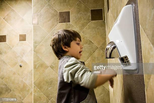 Persönliche Hygiene trocken