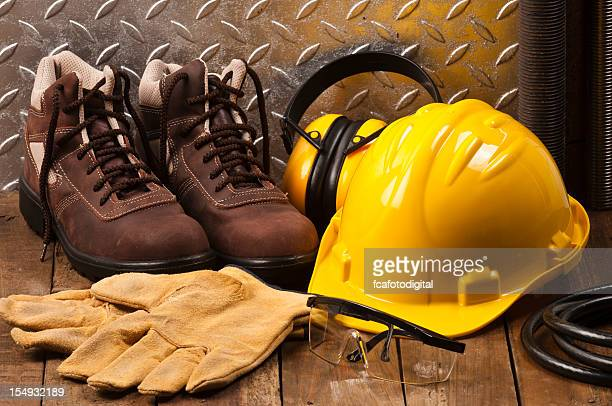 Personal protective workwear on work location