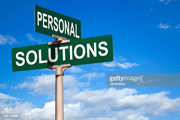 Personal Solutions Street Intersection Sign