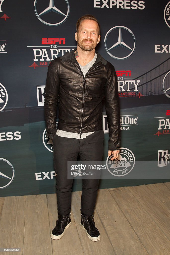 Personal trainer and author Bob Harper arrives at the annual ESPN The Party at Fort Mason Center on February 5, 2016 in San Francisco, California.