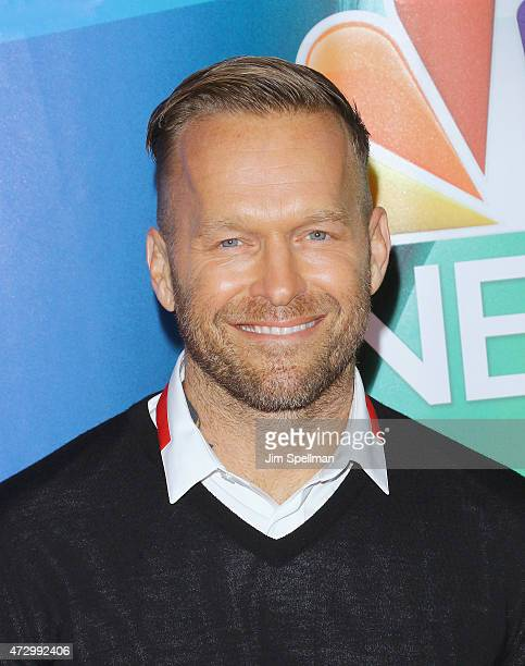 Personal trainer Bob Harper attends the 2015 NBC upfront presentation red carpet event at Radio City Music Hall on May 11 2015 in New York City