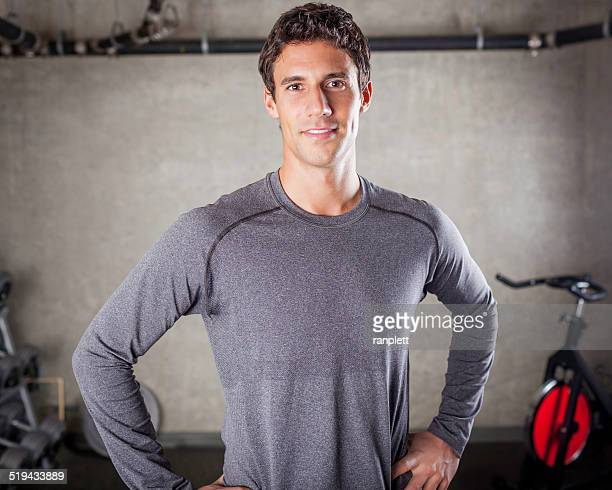 Persönlicher Trainer in der Fitness