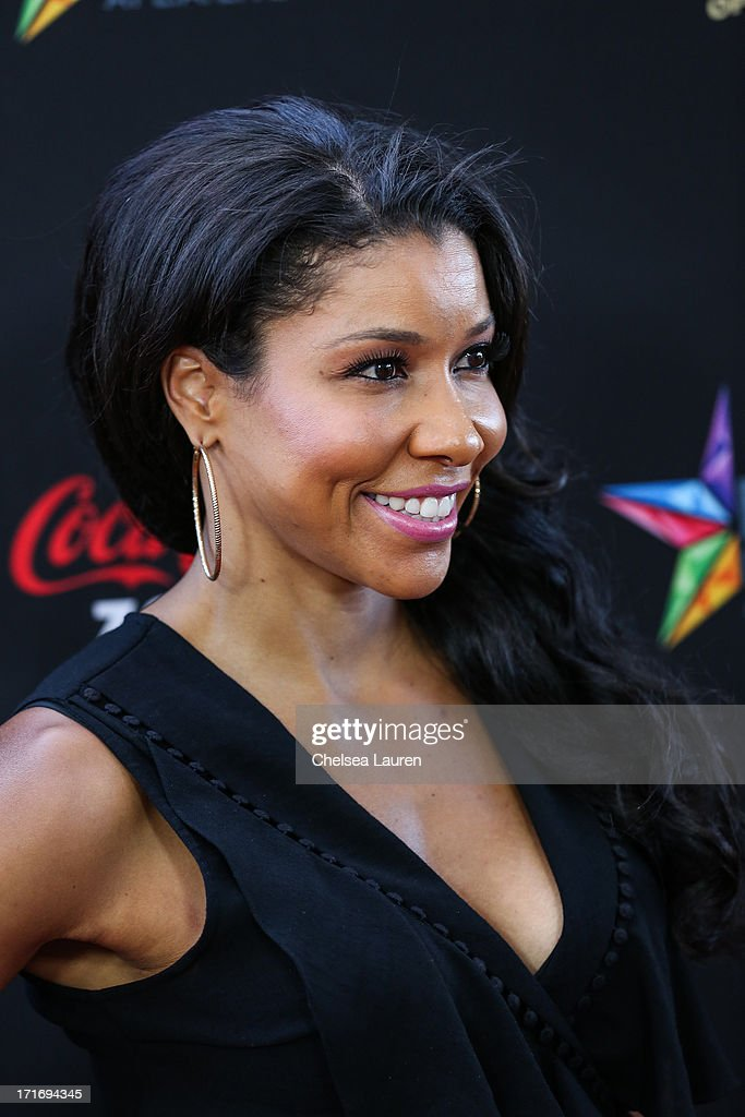Personal Trainer Jeanette Jenkins arrives at the 'Kevin Hart: Let Me Explain' premiere at Regal Cinemas L.A. Live on June 27, 2013 in Los Angeles, California.