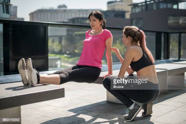 Personal Trainer - Urban running: Exercise trainer support