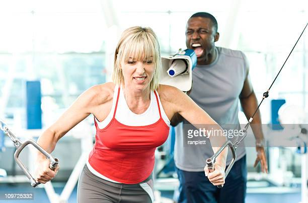 Personal Trainer with a Megaphone