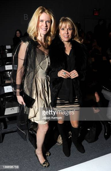 TV personalities Alex McCord and Ramona Singer attend the Zang Toi Fall 2012 fashion show during MercedesBenz Fashion Week at The Studio at Lincoln...