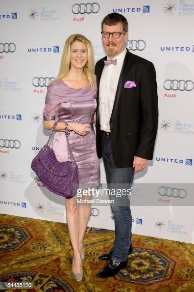 TV personalities Alex McCord and Simon van Kempen attend the 2012 Orphaned Starfish Gala at Cipriani Wall Street on October 19 2012 in New York City