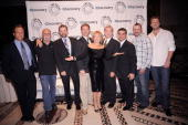 TV personalities Andy Hillstrand Paul Teutel Sr Jonathan Hillstrand Mike Rowe President and CEO Paley Center for Media Pat Mitchell founder and...
