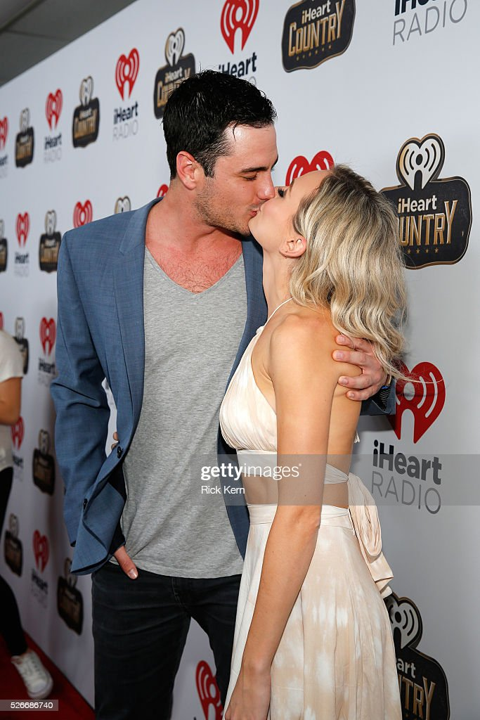 TV personalities Ben Higgins and <a gi-track='captionPersonalityLinkClicked' href=/galleries/search?phrase=Lauren+Bushnell&family=editorial&specificpeople=15535353 ng-click='$event.stopPropagation()'>Lauren Bushnell</a> attend the 2016 iHeartCountry Festival at The Frank Erwin Center on April 30, 2016 in Austin, Texas.