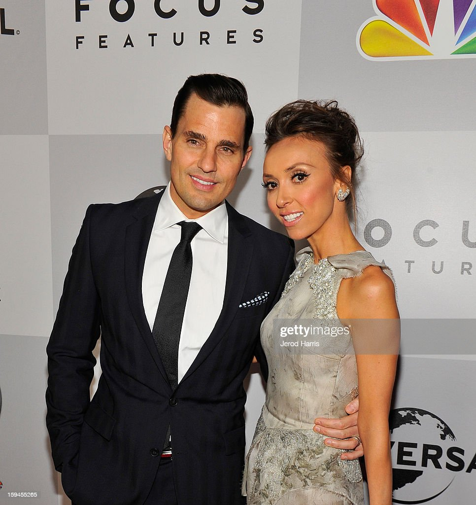 TV personalities Bill Rancic (L) and Giuliana Rancic attend the NBCUniversal Golden Globes viewing and after party held at The Beverly Hilton Hotel on January 13, 2013 in Beverly Hills, California.
