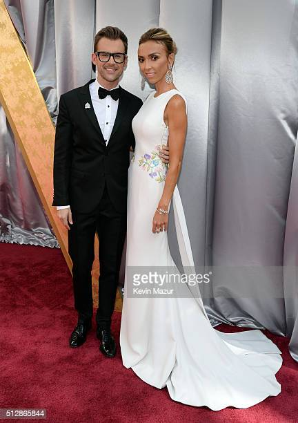 TV personalities Brad Goreski and Giuliana Rancic attend the 88th Annual Academy Awards at Hollywood Highland Center on February 28 2016 in Hollywood...