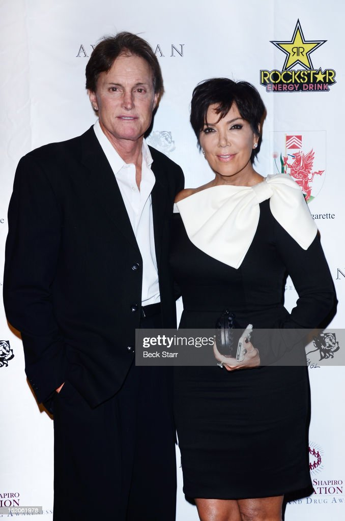 TV personalities Bruce Jenner and Kris Jenner arrive at Brent Shapiro Foundation The Summer Spectacular on September 15 2012 in Beverly Hills...