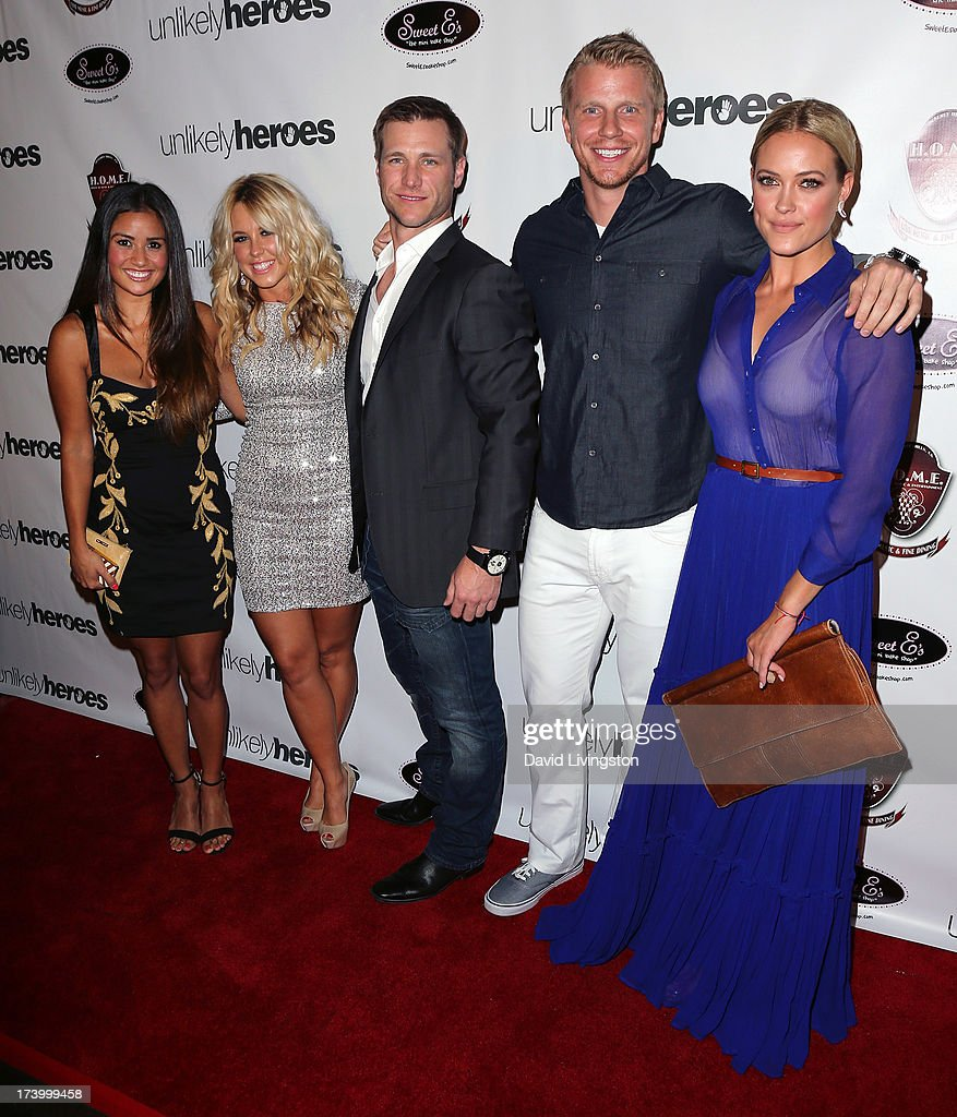 TV personalities <a gi-track='captionPersonalityLinkClicked' href=/galleries/search?phrase=Catherine+Giudici&family=editorial&specificpeople=10551820 ng-click='$event.stopPropagation()'>Catherine Giudici</a>, <a gi-track='captionPersonalityLinkClicked' href=/galleries/search?phrase=Chelsie+Hightower&family=editorial&specificpeople=5775836 ng-click='$event.stopPropagation()'>Chelsie Hightower</a>, <a gi-track='captionPersonalityLinkClicked' href=/galleries/search?phrase=Jake+Pavelka&family=editorial&specificpeople=6372628 ng-click='$event.stopPropagation()'>Jake Pavelka</a>, Sean Lowe and <a gi-track='captionPersonalityLinkClicked' href=/galleries/search?phrase=Peta+Murgatroyd&family=editorial&specificpeople=6824437 ng-click='$event.stopPropagation()'>Peta Murgatroyd</a> attend the <a gi-track='captionPersonalityLinkClicked' href=/galleries/search?phrase=Chelsie+Hightower&family=editorial&specificpeople=5775836 ng-click='$event.stopPropagation()'>Chelsie Hightower</a> and <a gi-track='captionPersonalityLinkClicked' href=/galleries/search?phrase=Peta+Murgatroyd&family=editorial&specificpeople=6824437 ng-click='$event.stopPropagation()'>Peta Murgatroyd</a> Charity Birthday Party on July 18, 2013 in Los Angeles, California.