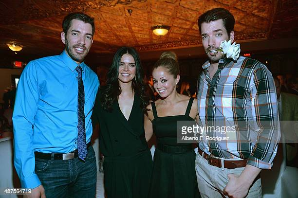TV personalities Drew Scott Marcela Valladolid Katie Lee and Jonathan Scott attend REVOLT and The National Cable and Telecommunications Association's...