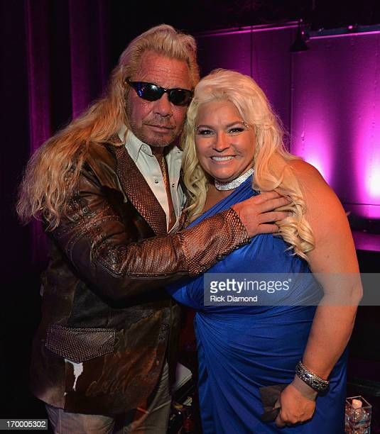 TV personalities Duane Dog Lee Chapman and Beth Chapman attend the 2013 CMT Music Awards After Party at Rocketown on June 5 2013 in Nashville...