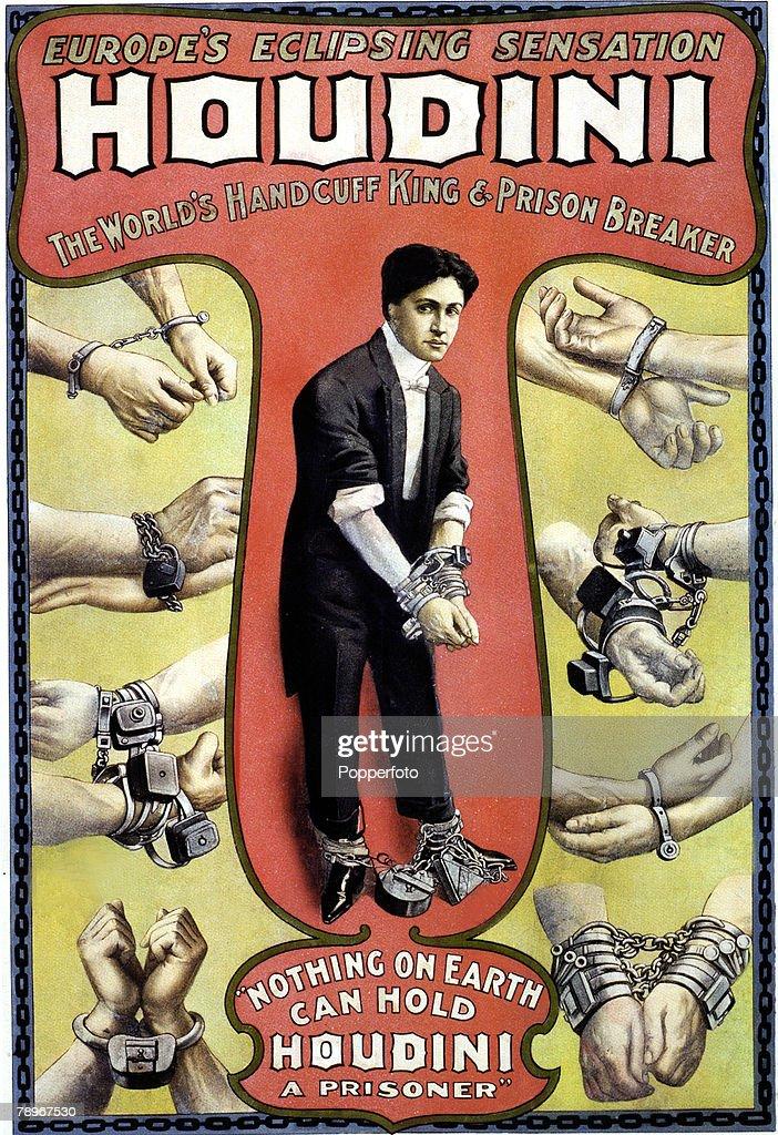 15 Vintage Magic Posters on Houdini's Birthday
