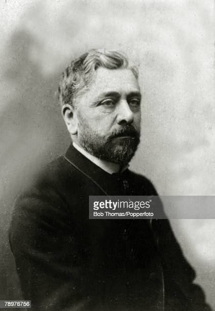 circa 1900 Gustave Eiffel French engineer designer of the Eiffel Tower