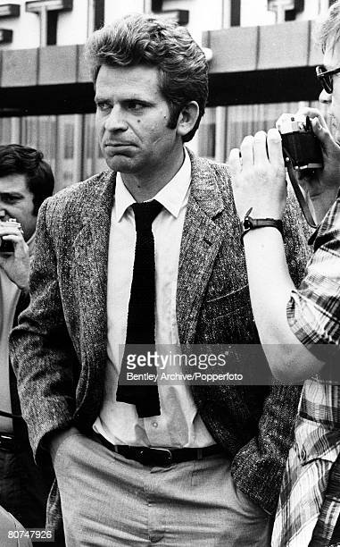 July 1972 New York Russian chess master Boris Spassky pictured after a walk out after he and challenger American Bobby Fischer had been in dispute...