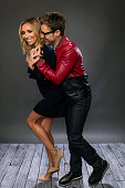 TV personalities Giuliana Rancic and Brad Goreski pose for a portrait during the NBCUniversal Press Day at The Langham Huntington Pasadena on January...