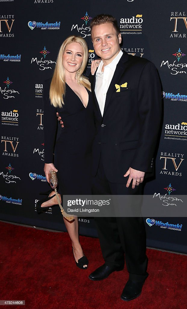 TV personalities Heidi Montag and Spencer Pratt attend the 3rd Annual Reality TV Awards at Avalon on May 13 2015 in Hollywood California