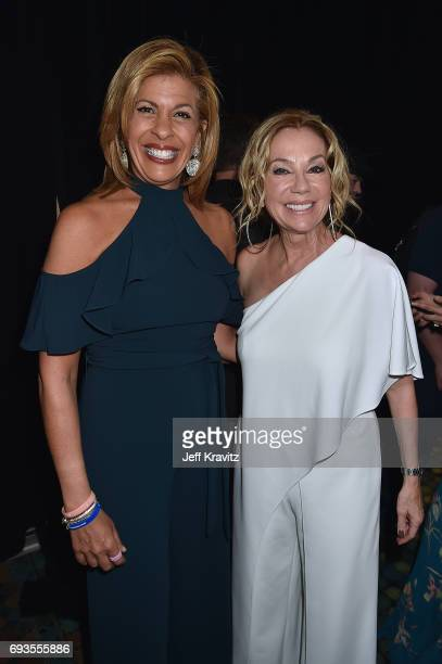 TV personalities Hoda Kotb and Kathie Lee Gifford attend the 2017 CMT Music Awards at the Music City Center on June 7 2017 in Nashville Tennessee