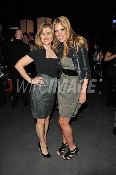 a878c935c5a3 Personalities Jennifer Valentyne and Dina Pugliese attend the ...