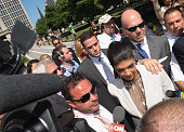 TV personalities Joe Giudice and Teresa Giudice appear in court to face charges of defrauding lenders illegally obtaining mortgages and other loans...