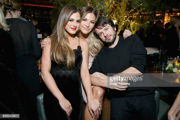 TV personalities JoJo Fletcher and Becca Tilley at a celebration of music with Republic Records in partnership with Absolut and Pryma at Catch LA on...