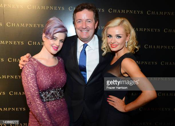 TV personalities Kelly Osbourne Piers Morgan and singer Katherine Jenkins attend BritWeek 'An Evening With Piers Morgan In Conversation With Jackie...