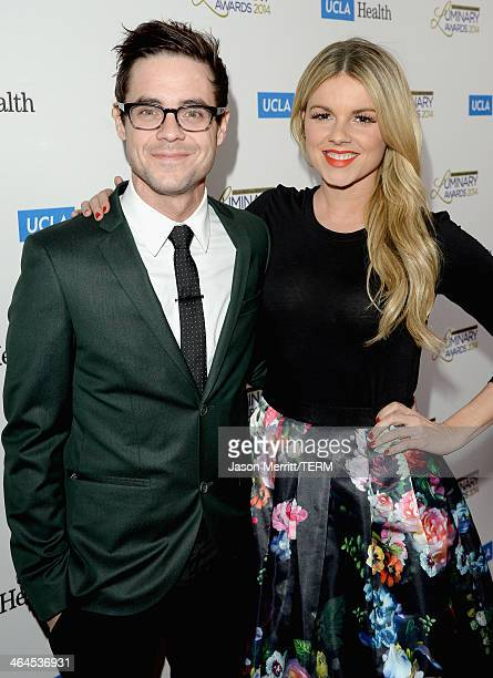 TV personalities Kevin Manno and Ali Fedotowsky attend the UCLA Head and Neck Surgery Luminary Awards at the Beverly Wilshire Four Seasons Hotel on...