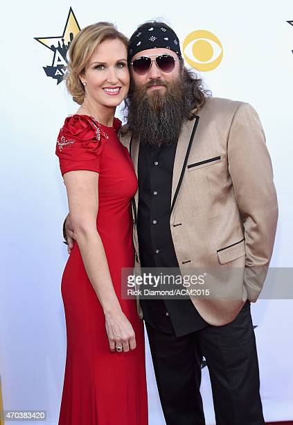 TV personalities Korie Robertson and Willie Robertson attend the 50th Academy Of Country Music Awards at ATT Stadium on April 19 2015 in Arlington...