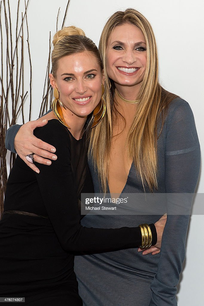TV personalities Kristen Taekman (L) Heather Thomson attend the 'The Real Housewives Of New York City' season six premiere party at Tokya on March 12, 2014 in New York City.