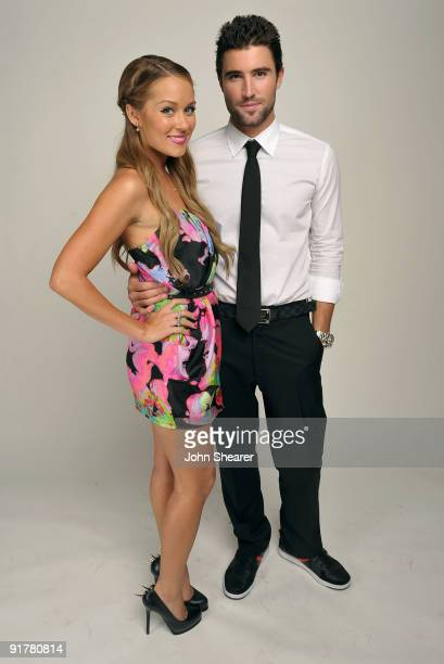 TV personalities Lauren Conrad and Brody Jenner pose for a portrait at Hollywood Life's 6th Annual Hollywood Style Awards held at the Armand Hammer...