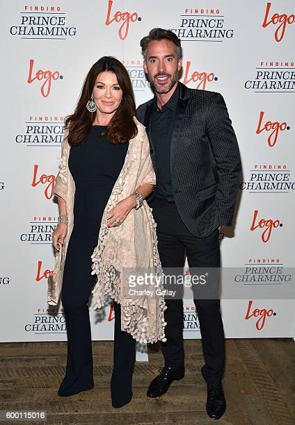 TV personalities Lisa Vanderpump and Robert Sepulveda Jr attend Logo's 'Finding Prince Charming' Premiere Screening And Reception at HYDE Sunset...