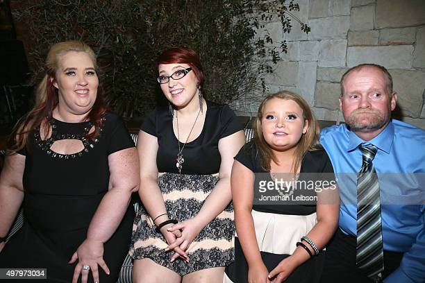 TV personalities Mama June Pumpkin Honey Boo Boo and Sugar Bear attend the WE tv premiere of 'Marriage Boot Camp' Reality Stars and 'Exisled' on...