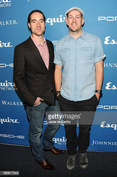 TV personalities Martin Dickie and James Watt of BrewDog attend the Esquire 80th anniversary and Esquire Network launch celebration at Highline...
