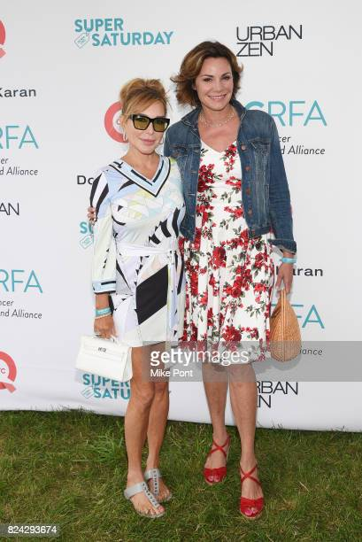 TV personalities Marysol Patton and Luann D'Agostino attend OCRFA's 20th Annual Super Saturday to Benefit Ovarian Cancer on July 29 2017 in Watermill...