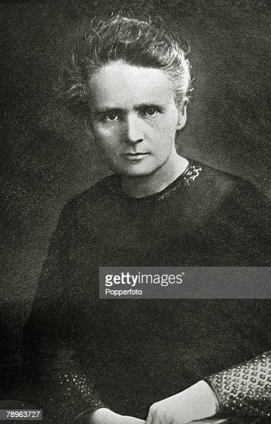 Personalities Medicine Science/Health pic circa 1900 Marie Curie 18671934 pictured in a studio portrait Marie Curie won the 1903 Nobel Prize for...