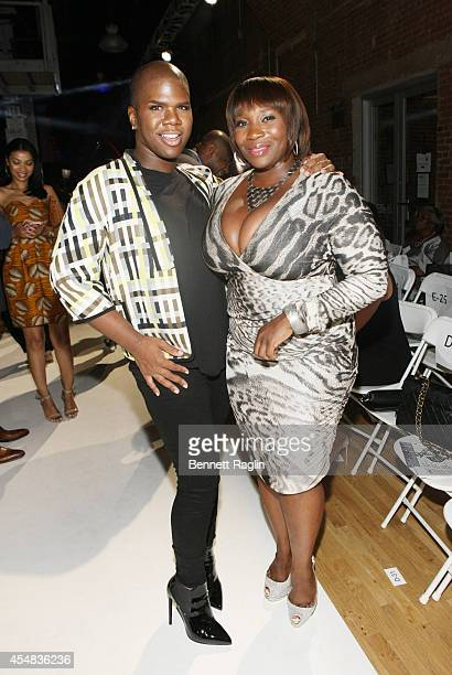 TV personalities Miss Lawrence and Bevy Smith attend Harlem's Fashion Row 7th Annual Fashion Show And Style Awards at The Waterfront on September 6...