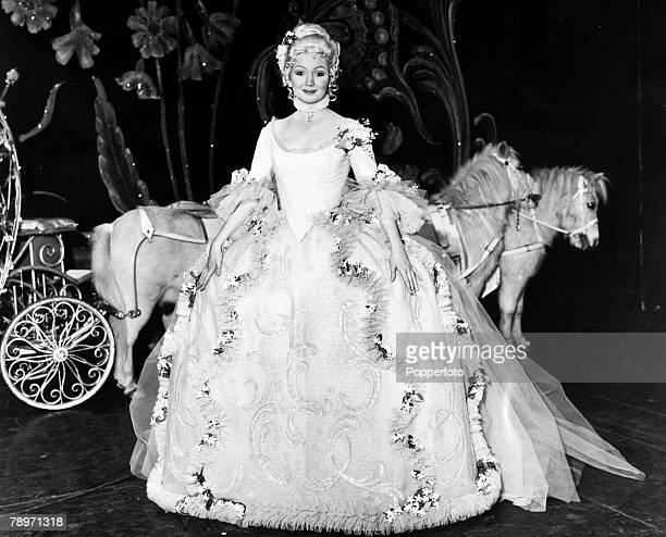 16th December 1970 Welsh folk singer Mary Hopkin pictured in the pantomime role of 'Cinderella' at the Manchester Opera House Mary Hopkin enjoyed a...